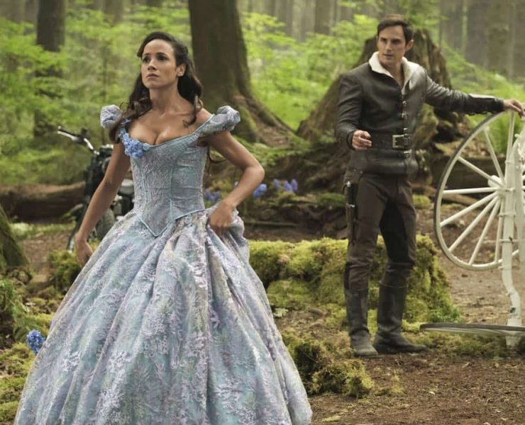"""ONCE UPON A TIME - """"Hyperion Heights"""" - As """"Once Upon a Time"""" returns to ABC for its seventh season, FRIDAY, OCTOBER 6 (8:00-9:00 p.m. EDT), on the ABC Television Network, the residents of the enchanted forest face their greatest challenge yet as the Evil Queen, Captain Hook and Rumpelstiltskin join forces with a grown-up Henry Mills and his daughter Lucy on an epic quest to bring hope to their world and ours. (ABC/Eike Schroter) DANIA RAMIREZ, ANDREW J. WEST"""