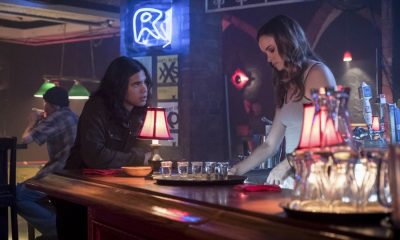 """The Flash -- """"The Flash Reborn"""" -- Image Number: FLA401b_0184b.jpg -- Pictured (L-R): Carlos Valdes as Cisco Ramon and Danielle Panabaker as Caitlin Snow -- Photo: Katie Yu /The CW -- © 2017 The CW Network, LLC. All rights reserved."""
