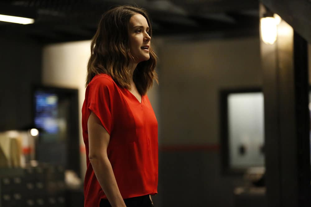 "THE BLACKLIST -- ""Greyson Blaise"" Episode 502 -- Pictured: Megan Boone as Elizabeth Keen -- (Photo by: Will Hart/NBC)"