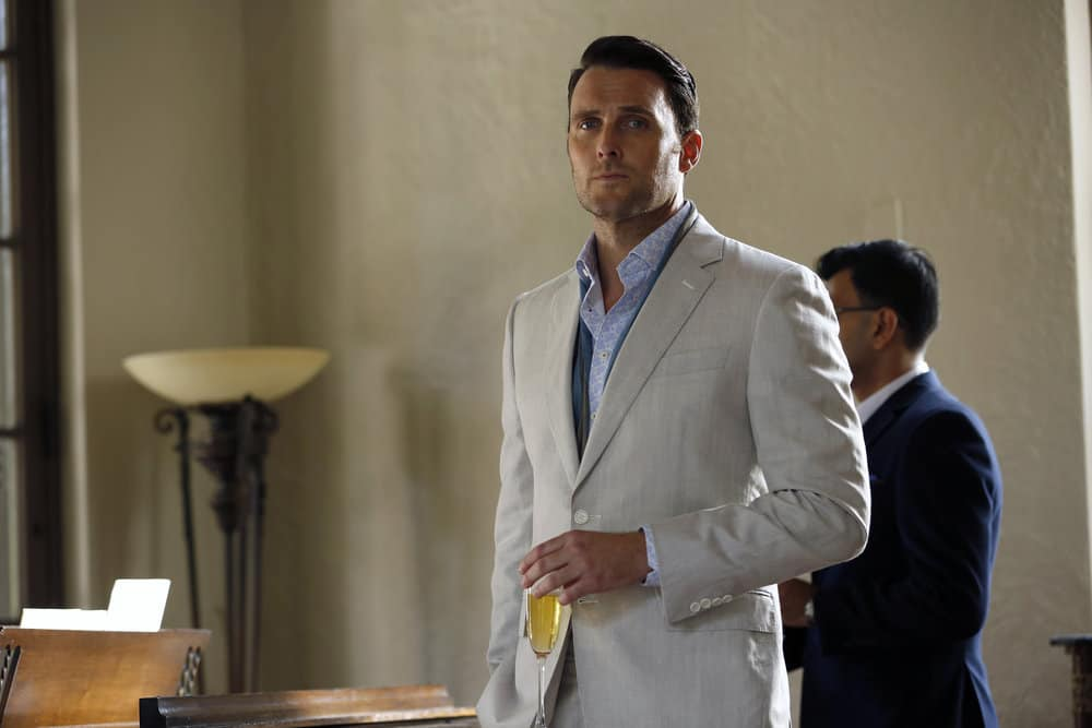 "THE BLACKLIST -- ""Greyson Blaise"" Episode 502 -- Pictured: Owain Yeoman as Greyson Blaise -- (Photo by: Will Hart/NBC)"