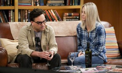 """The Retraction Reaction"" - Pictured: Leonard Hofstadter (Johnny Galecki) and Penny (Kaley Cuoco). Leonard angers the university -- and the entire physics community -- after he gives an embarrassing interview. Also, Amy and Bernadette bond over having to hide their success from Sheldon and Howard, Monday, Oct. 2 (8:00-8:30 PM, ET/PT) on the CBS Television Network. Ira Flatow returns to guest star as himself, and Regina King returns as Mrs. Davis. Photo: Richard Cartwright/CBS ©2017 CBS Broadcasting, Inc. All Rights Reserved"