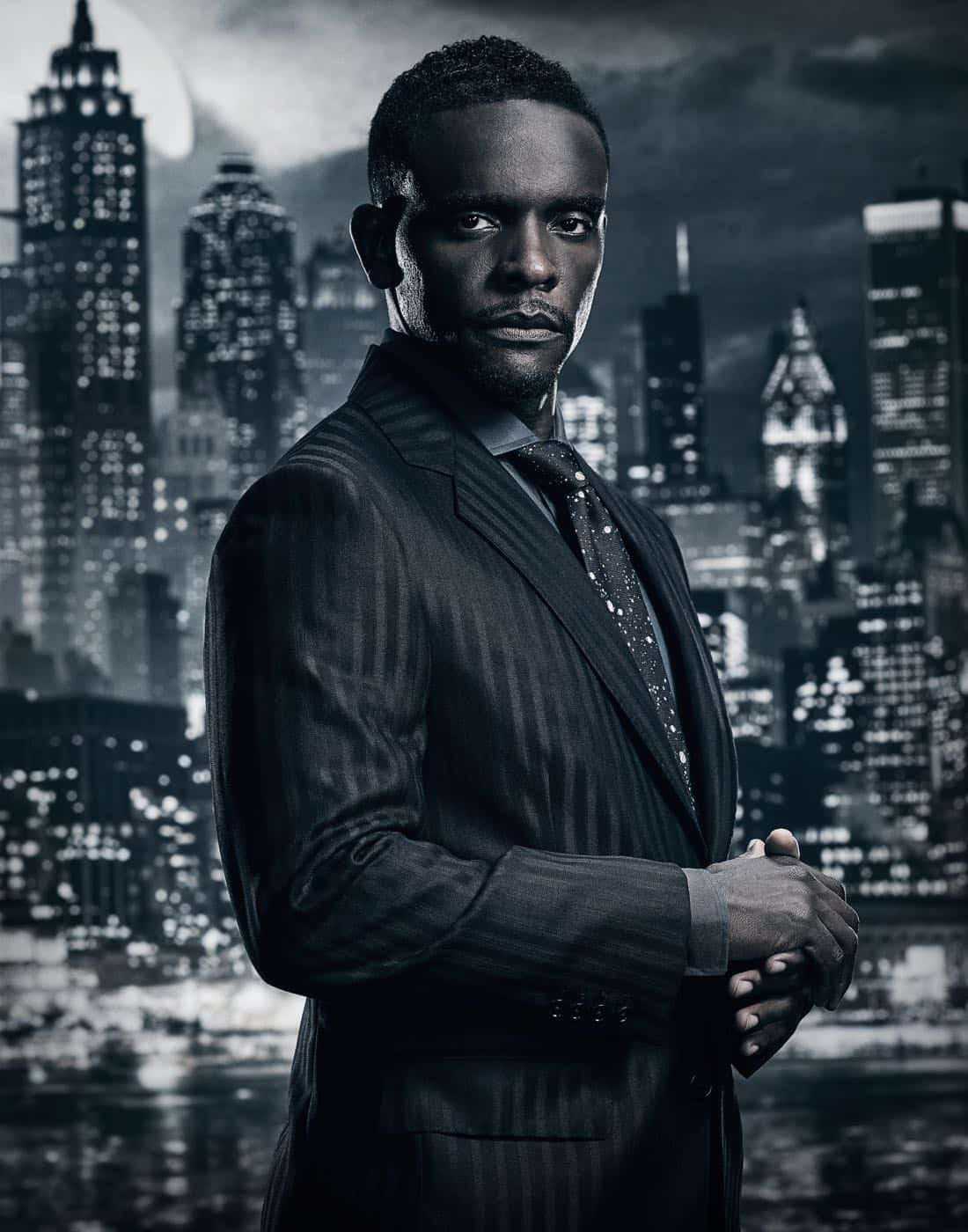 Chris Chalk. Season 4 of GOTHAM
