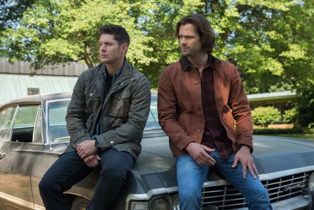 "Supernatural -- ""Lost and Found -- Pictured (L-R): Jensen Ackles as Dean and Jared Padalecki as Sam"