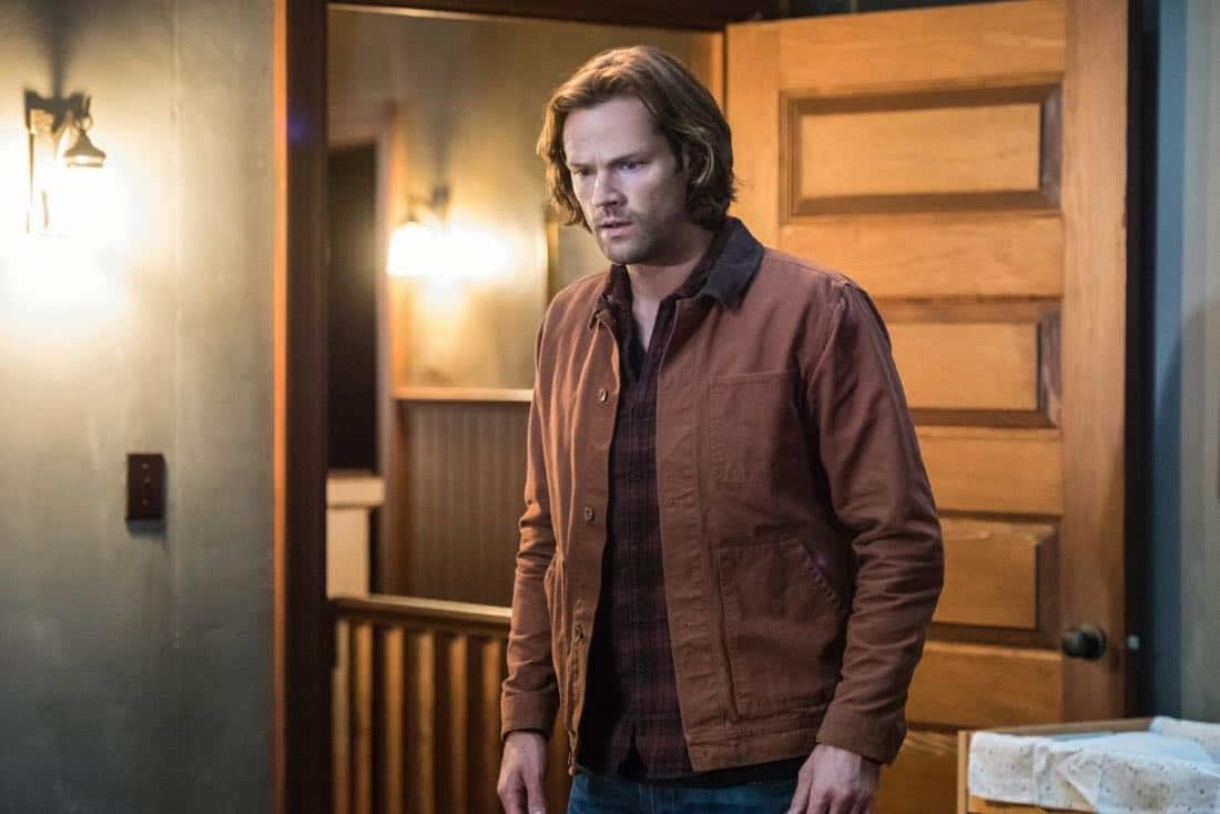 "Supernatural -- ""Lost and Found -- Pictured: Jared Padalecki as Sam -- Photo: Dean Buscher/The CW -- ©2017 The CW Network, LLC All"
