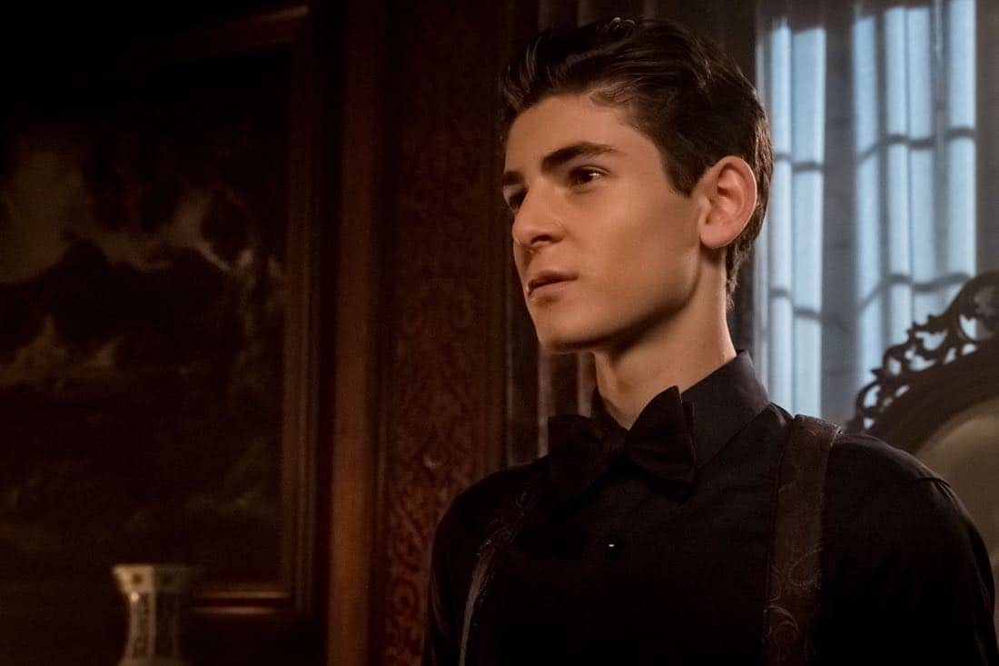 "GOTHAM: David Mazouz in ""A Dark Knight: They Who Hide Behind Masks"""