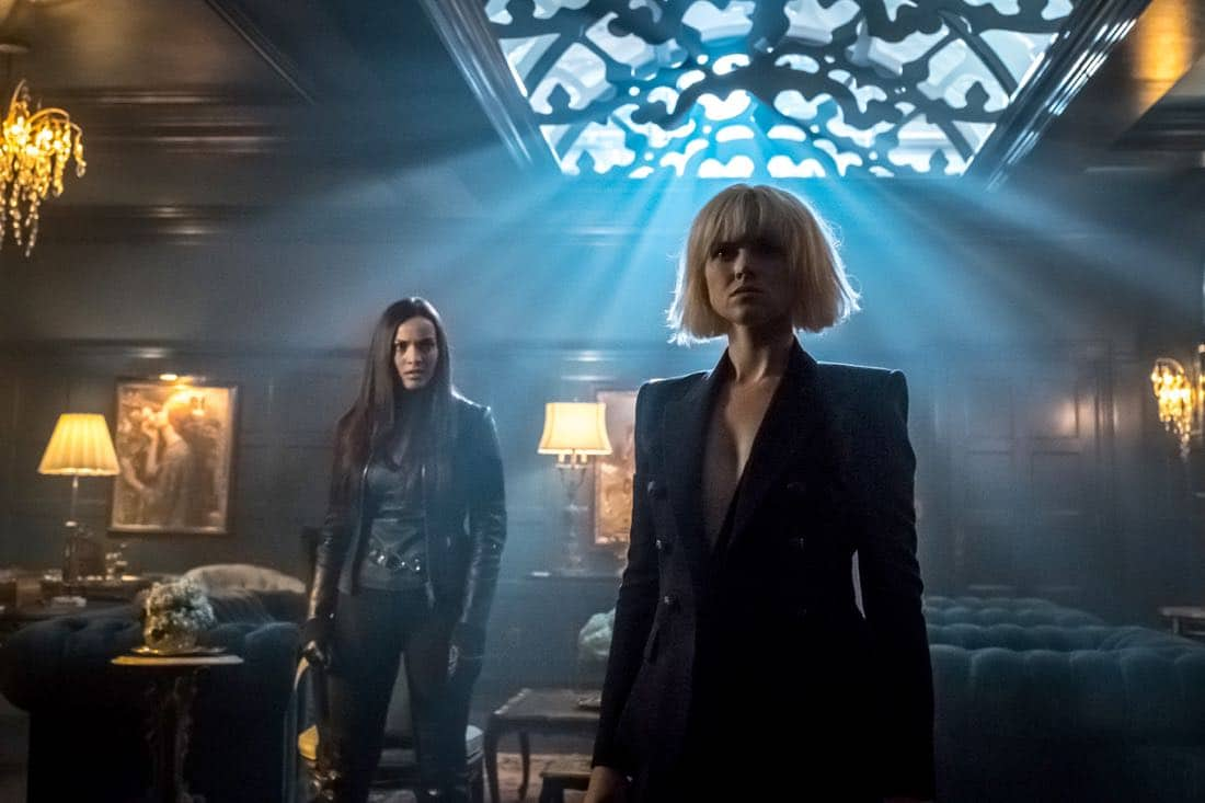 """GOTHAM: L-R: Jessica Lucas and Erin Richards in """"The Fear Reaper"""""""