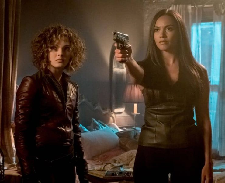 "GOTHAM: L-R: Camren Bicondova and Jessica Lucas in ""The Fear Reaper"""