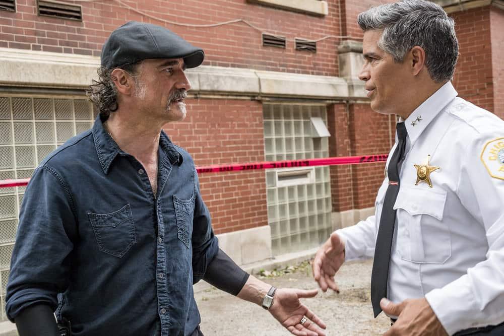 Chicago P.D. - Season 5 Elias Koteas as Alvin Olinsky, Esai Morales as Chief Lugo