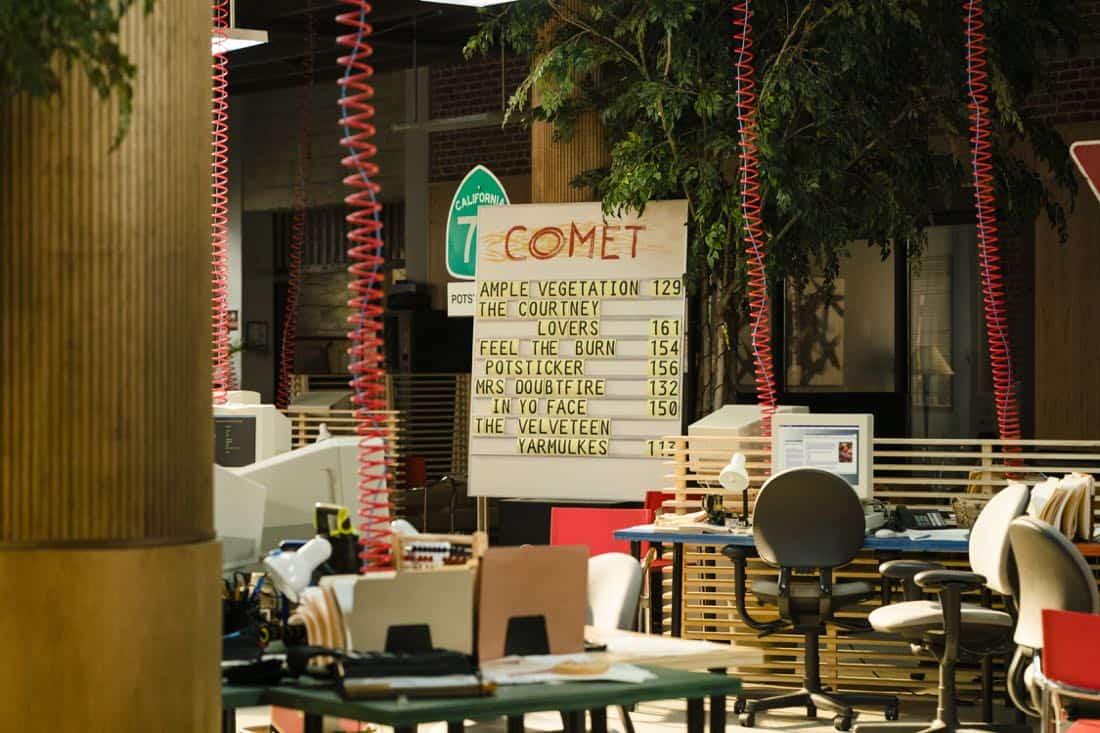 Interior Comet - Halt and Catch Fire _ Season 4, Episode 7