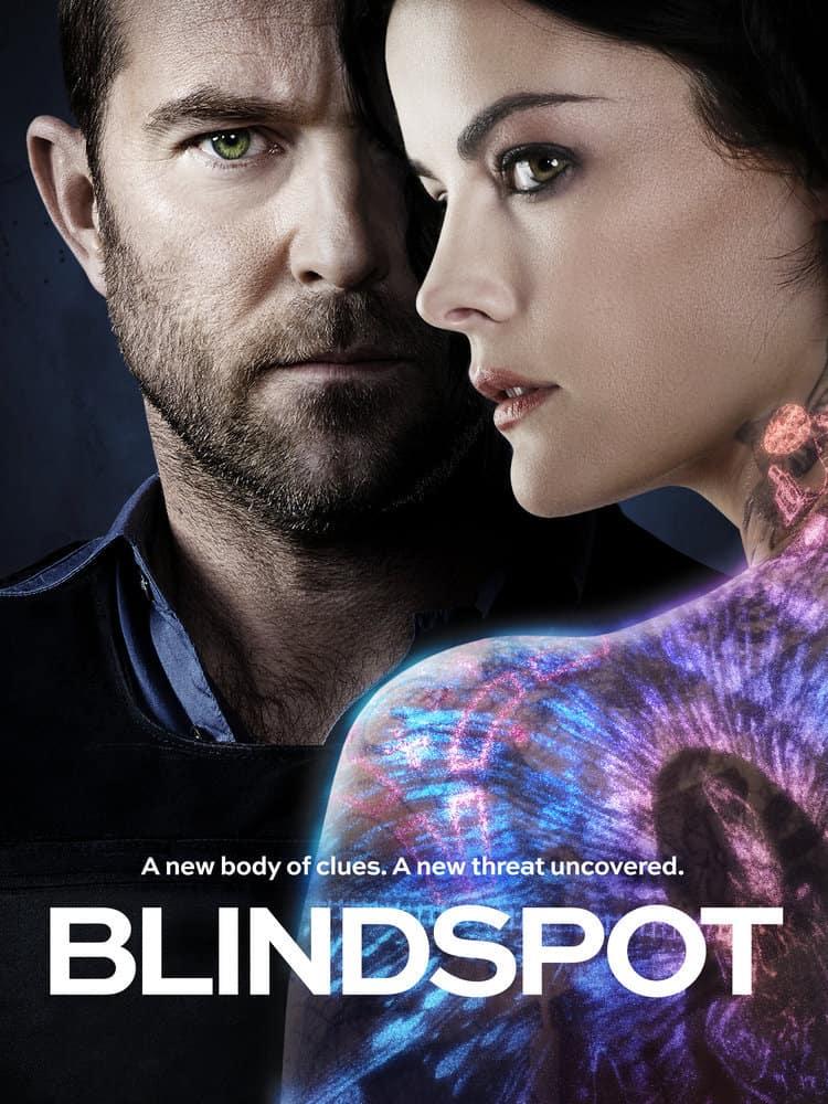 Blindspot - Season 3 Poster Key Art Sullivan Stapleton Jaimie Alexander