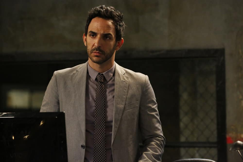 "THE BLACKLIST -- ""Miss Rebecca Thrall (#76)"" Episode 503 -- Pictured: Amir Arison as Aram Mojtabai -- (Photo by: Will Hart/NBC)"