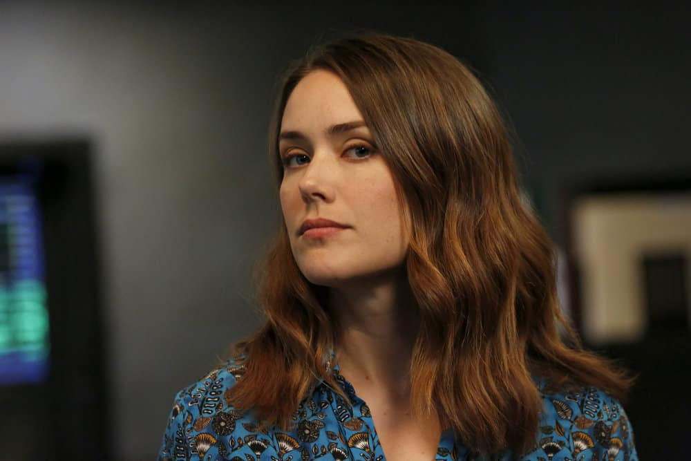 "THE BLACKLIST -- ""Miss Rebecca Thrall (#76)"" Episode 503 -- Pictured: Megan Boone as Elizabeth Keen -- (Photo by: Will Hart/NBC)"