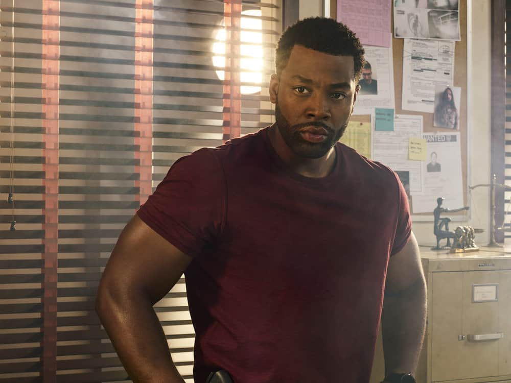 CHICAGO P.D. -- Season: 5 -- Pictured: LaRoyce Hawkins as Kevin Atwater -- (Photo by: James Dimmock/NBC)