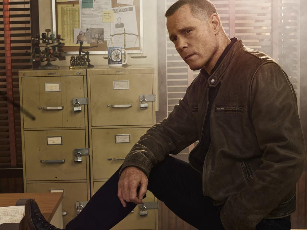 CHICAGO P.D. -- Season: 5 -- Pictured: Jason Beghe as Hank Voight -- (Photo by: James Dimmock/NBC)