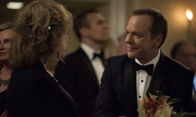 "DESIGNATED SURVIVOR - ""Sting of the Tail"" - FBI Agent Hannah Wells finally closes in on Patrick Lloyd, but when the president decides to take action during the White House Correspondents Dinner, members of the Homeland Security Council threaten to derail their plans, on ""Designated Survivor,"" airing WEDNESDAY, OCTOBER 4 (10:00-11:00 p.m. EDT). (ABC/John Medland) BONNIE BEDELIA, KIEFER SUTHERLAND"