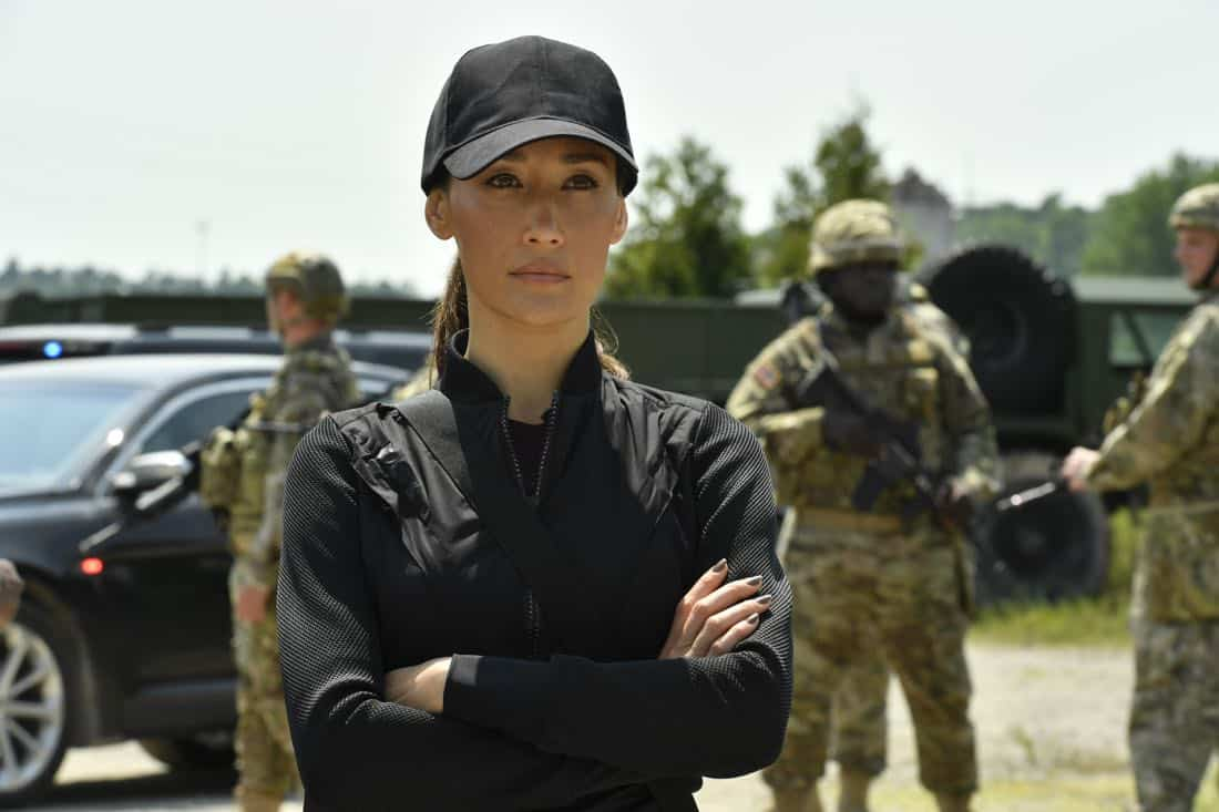 """DESIGNATED SURVIVOR – """"Sting of the Tail"""" – FBI Agent Hannah Wells finally closes in on Patrick Lloyd, but when the president decides to take action during the White House Correspondents Dinner, members of the Homeland Security Council threaten to derail their plans, on """"Designated Survivor,"""" airing WEDNESDAY, OCTOBER 4 (10:00-11:00 p.m. EDT). (ABC/Ben Mark Holzberg) MAGGIE Q"""