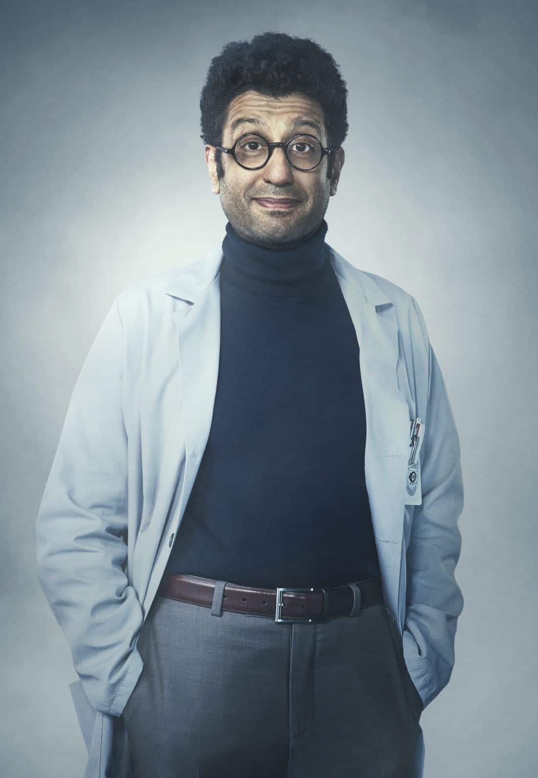 GHOSTED: Adeel Akhtar in GHOSTED premiering Sunday, Oct. 1 (8:30-9:00 PM ET/PT) on FOX. ©2017 Fox Broadcasting Co. CR: Scott Council /FOX