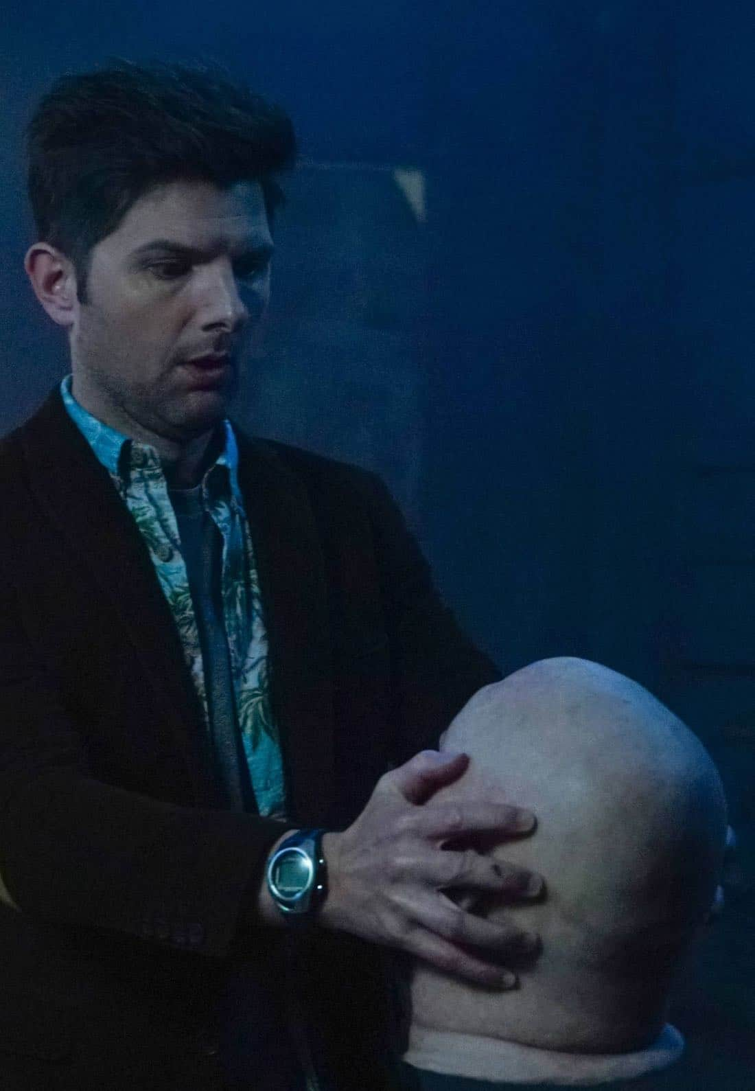 GHOSTED:  Adam Scott in the pilot episode of GHOSTED premiering Sunday, Oct. 1 (8:30-9:00 PM ET/PT) on FOX. ©2017 Fox Broadcasting CO. CR: Kevin Estrada/FOX