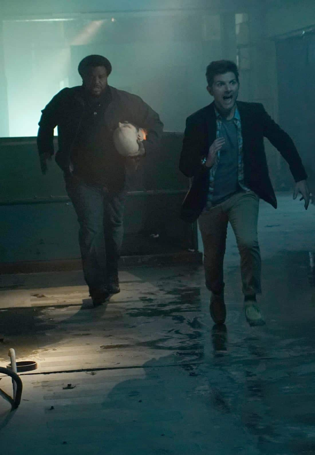 GHOSTED: L-R: Craig Robinson and Adam Scott in GHOSTED premieres Oct. 1 (8:30-9:00 PM ET/PT on FOX. CR: KEvin Estrada/FOX