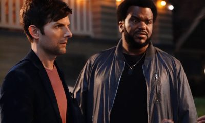 "GHOSTED: Pictured L-R: Adam Scott and Craig Robinson in the ""Jermaine the Zombie"" episode of GHOSTED airing Sunday, Oct. 8 (8:30-9:00 PM ET/PT) on FOX. ©2017 Fox Broadcasting Co. CR: Kevin Estrada/FOX"