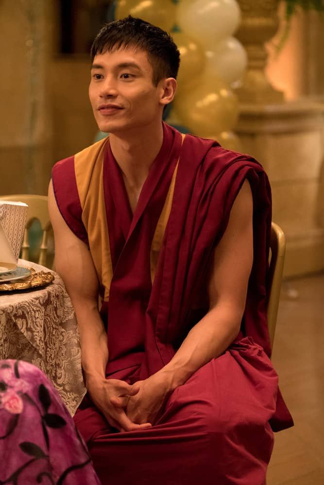 "THE GOOD PLACE -- ""Existential Crisis"" Episode 205 -- Pictured: Manny Jacinto as Jianyu -- (Photo by: Colleen Hayes/NBC)"