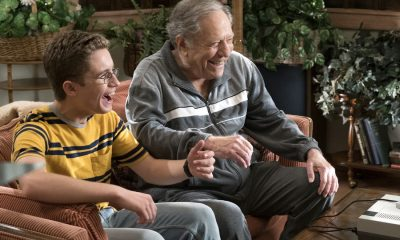"THE GOLDBERGS - ""Hogan Is My Grandfather"" - Adam is assigned a term paper on a great person in history, and he decides to make a movie about his grandfather but finds all of Pop's war stories mundane. Pops takes matters into his own hands and decides to tell more exciting stories based on an old television series. Meanwhile, Erica returns home to confront Beverly for over-mothering her. Murray insists Beverly teach Erica and Barry basic life skills, but she worries Erica and Barry will be too independent, on ""The Goldbergs,"" WEDNESDAY, OCTOBER 4 (8:00-8:30 p.m. EDT), on The ABC Television Network. (ABC/Ron Tom) SEAN GIAMBRONE, GEORGE SEGAL"