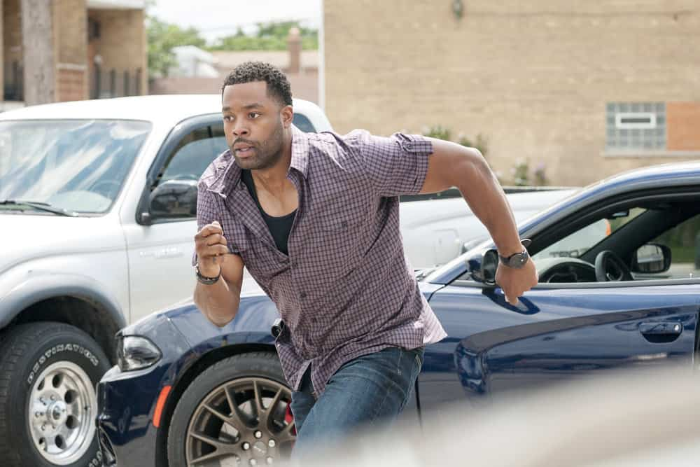 """CHICAGO P.D. -- """"Promise"""" Episode 503 -- Pictured: LaRoyce Hawkins as Kevin Atwater -- (Photo by: Matt Dinerstein/NBC)"""