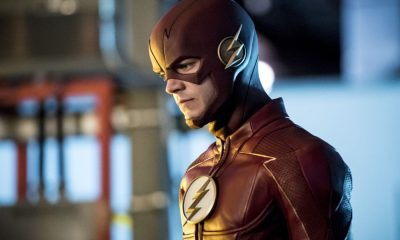 """The Flash -- """"Mixed Signals"""" -- Image Number: FLA402b_0384b.jpg -- Pictured: Grant Gustin as The Flash -- Photo: Dean Buscher/The CW -- © 2017 The CW Network, LLC. All rights reserved."""