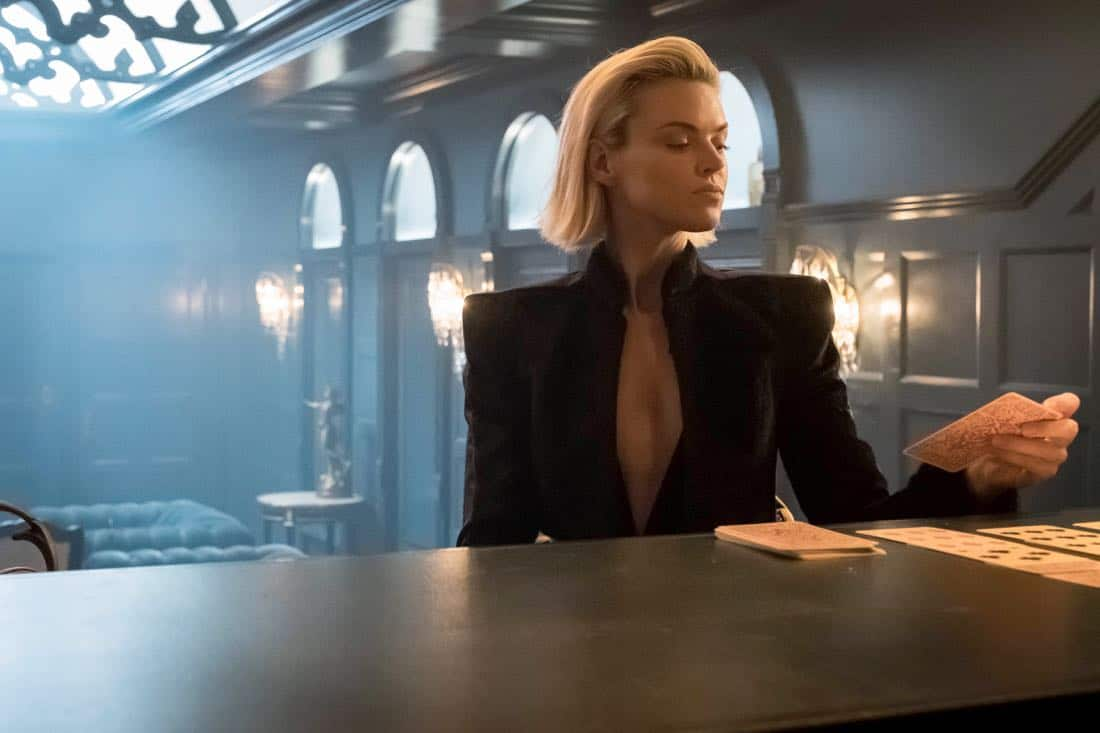 "GOTHAM: Erin Richards in the ""A Dark Knight: The Demon's Head"" episode of GOTHAM airing Thursday, Oct. 12 (8:00-9:01 PM ET/PT) on FOX. CR: Jeff Neumann/FOX"