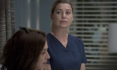 "GREY'S ANATOMY - ""Ain't That a Kick in the Head"" - Amelia confronts a difficult situation, while Meredith deals with the fallout from her conversation with Nathan. Maggie finds herself at an awkward family dinner, Jackson receives big news, and Richard and Bailey search for the stars of tomorrow, on ""Grey's Anatomy,"" THURSDAY, OCTOBER 12 (8:00-9:00 p.m. EDT), on The ABC Television Network. (ABC/Richard Cartwright) ELLEN POMPEO"