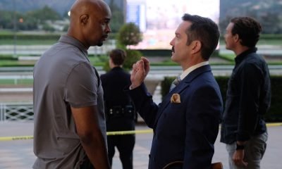 """LETHAL WEAPON: Pictured L-R: Damon Wayans, guest star Thomas Lennon and Clayne Crawford in the """"Let it Ride"""" episode of LETHAL WEAPON airing Tuesday, Oct. 31 (8:00-9:00 PM ET/PT) on FOX. ©2017 Fox Broadcasting Co. CR: Darren Michaels/FOX"""