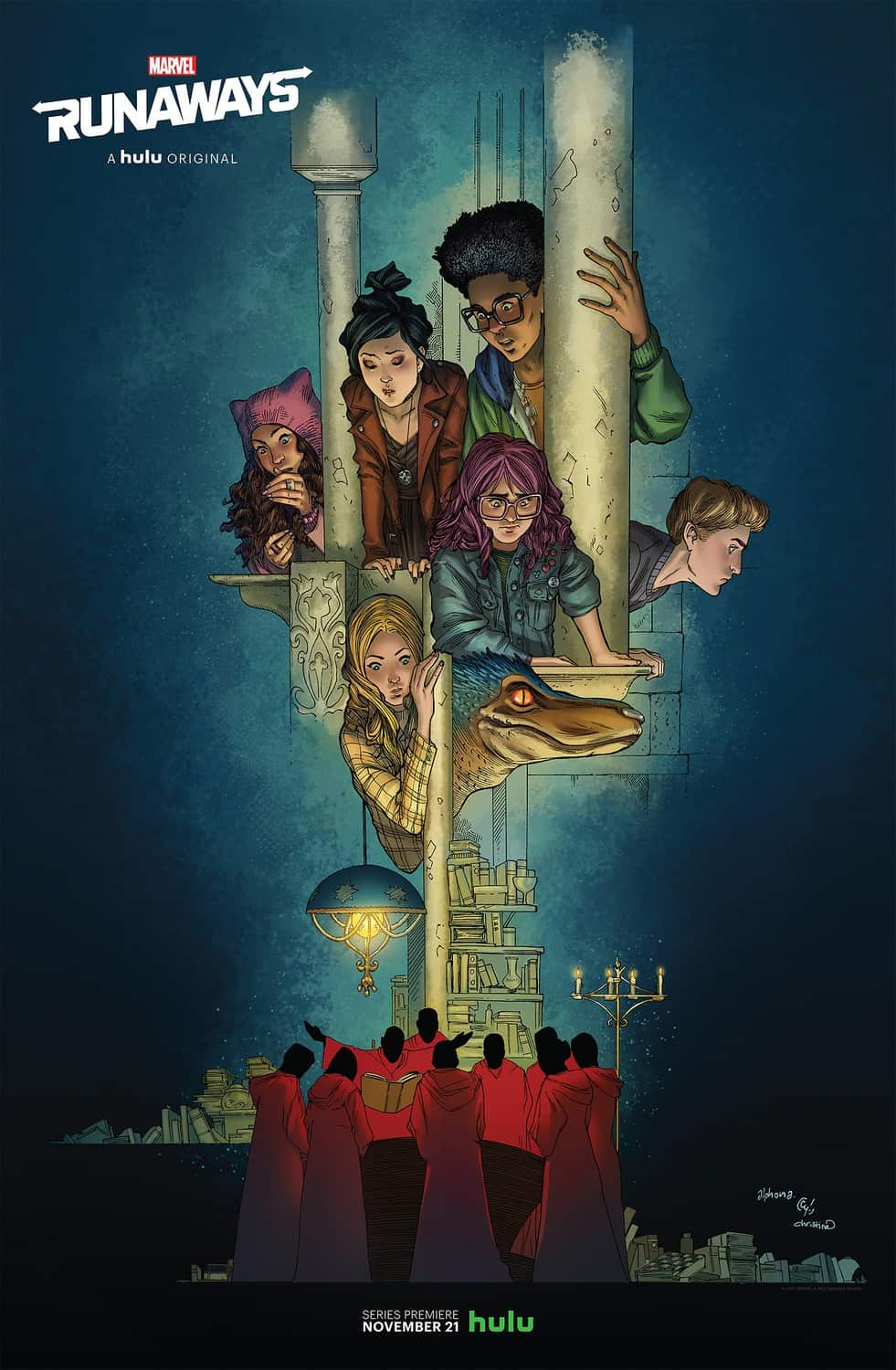Image result for marvel runaways poster
