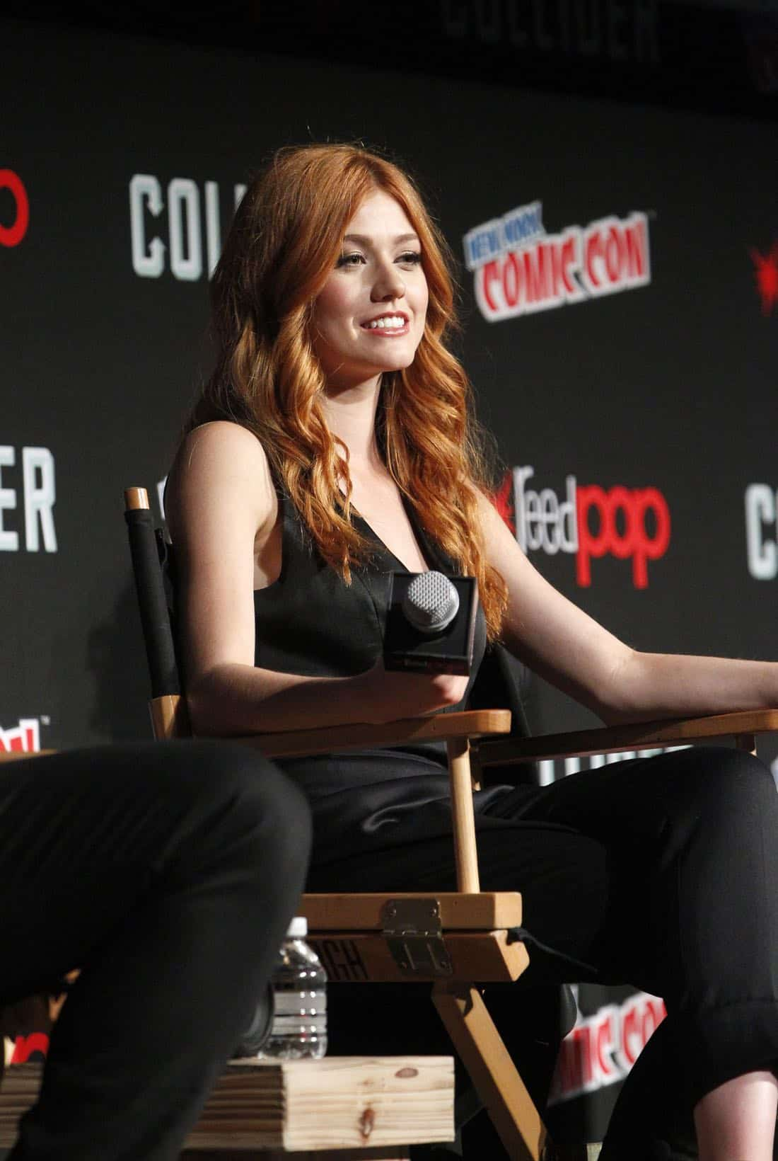 "NY COMIC-CON 2017 -SHADOWHUNTERS - Freeform's genre programming was out in full force at this year's New York Comic Con on Saturday, October 7th with executive producers and cast from the hit series ""Shadowhunters,"" ""Beyond,"" and new original series ""Siren."" (Freeform/Lou Rocco) KATHERINE MCNAMARA"
