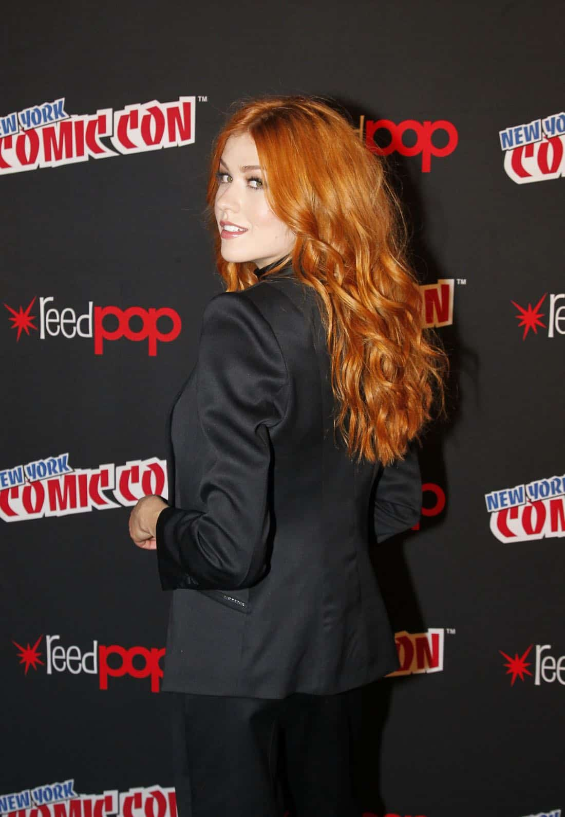 "NY COMIC-CON 2017 - Freeform's genre programming was out in full force at this year's New York Comic Con on Saturday, October 7th with executive producers and cast from the hit series ""Shadowhunters,"" ""Beyond,"" and new original series ""Siren.""  (ABC/Lou Rocco) KATHERINE MCNAMARA"