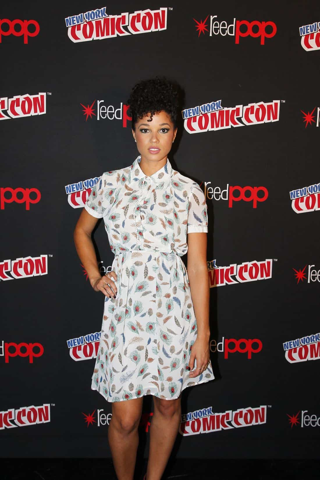 "NY COMIC-CON 2017 - Freeform's genre programming was out in full force at this year's New York Comic Con on Saturday, October 7th with executive producers and cast from the hit series ""Shadowhunters,"" ""Beyond,"" and new original series ""Siren.""  (ABC/Lou Rocco) ALISHA WAINWRIGHT"