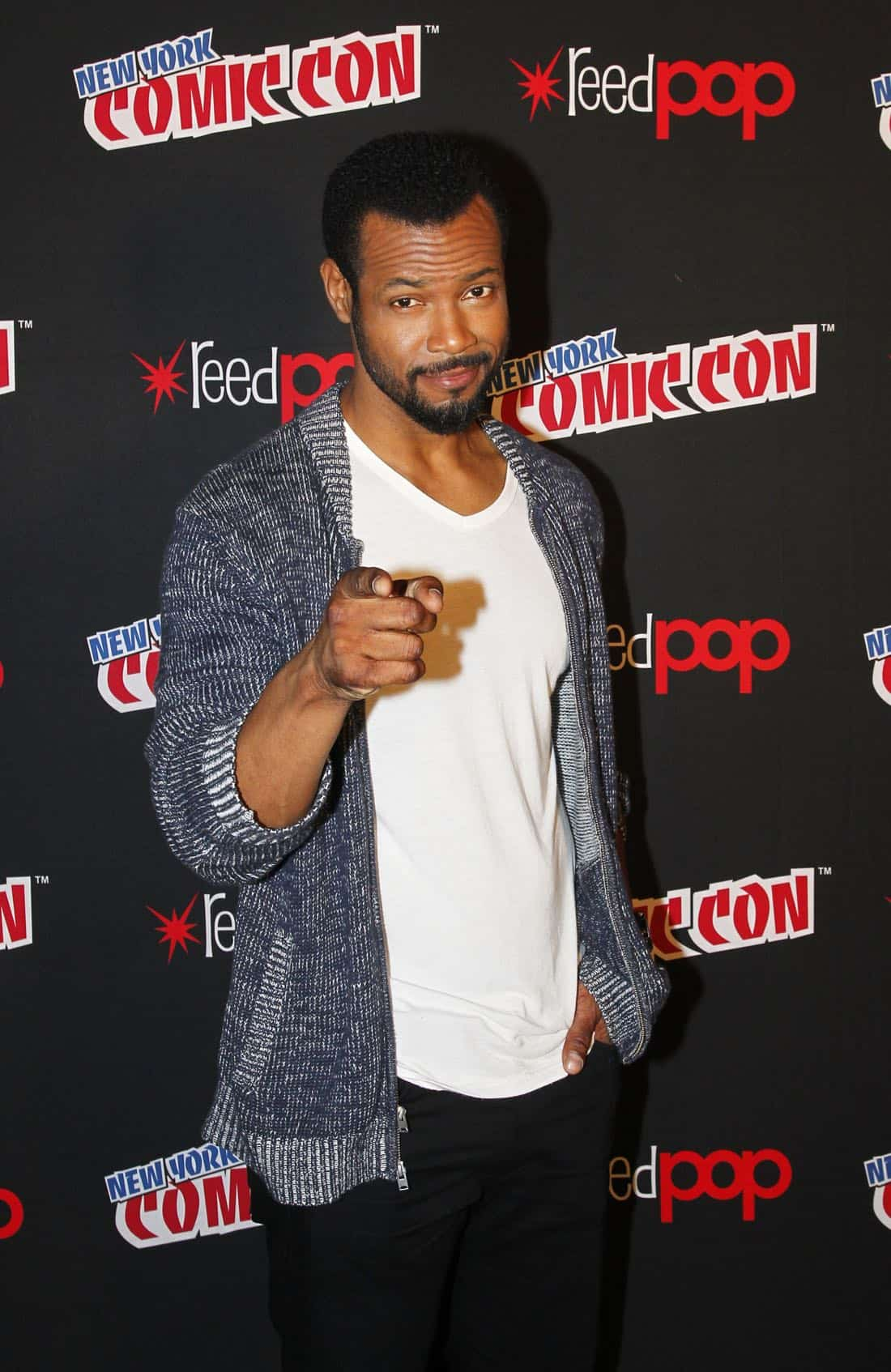 "NY COMIC-CON 2017 - Freeform's genre programming was out in full force at this year's New York Comic Con on Saturday, October 7th with executive producers and cast from the hit series ""Shadowhunters,"" ""Beyond,"" and new original series ""Siren.""  (ABC/Lou Rocco) ISAIAH MUSTAFA"
