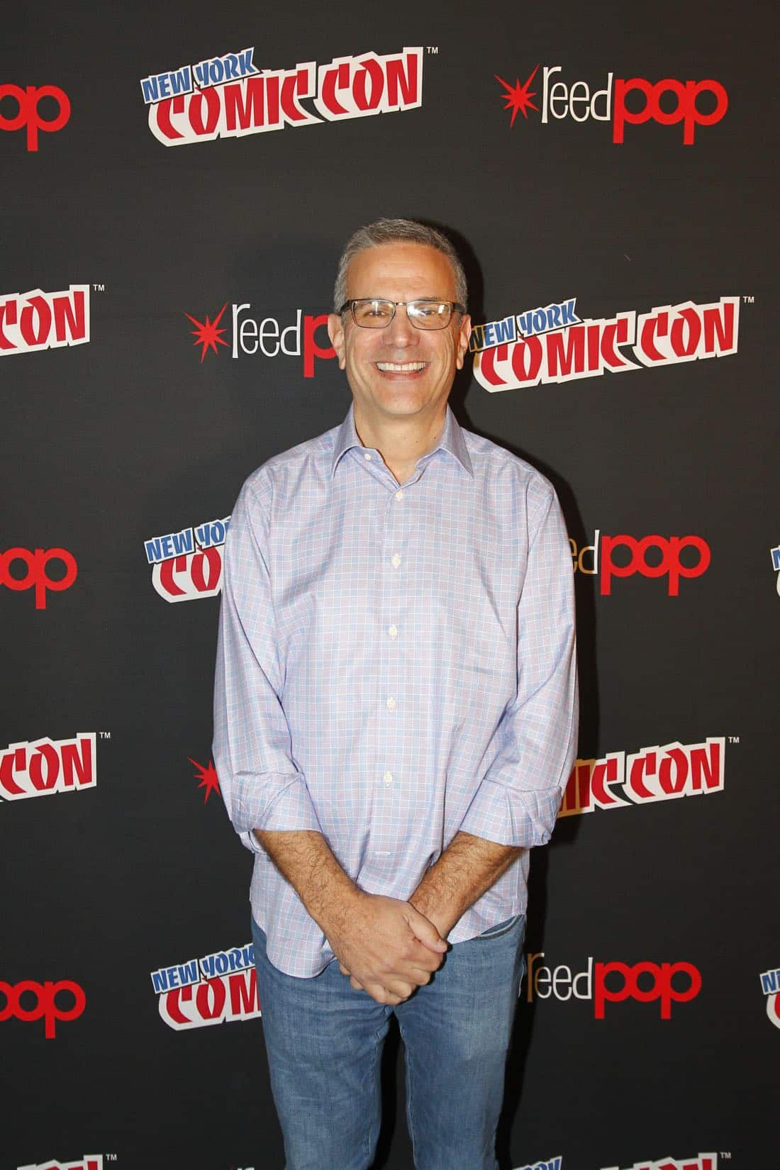 "NY COMIC-CON 2017 - Freeform's genre programming was out in full force at this year's New York Comic Con on Saturday, October 7th with executive producers and cast from the hit series ""Shadowhunters,"" ""Beyond,"" and new original series ""Siren.""  (ABC/Lou Rocco) TODD SLAVKIN (EXECUTIVE PRODUCER, SHADOWHUNTERS),"