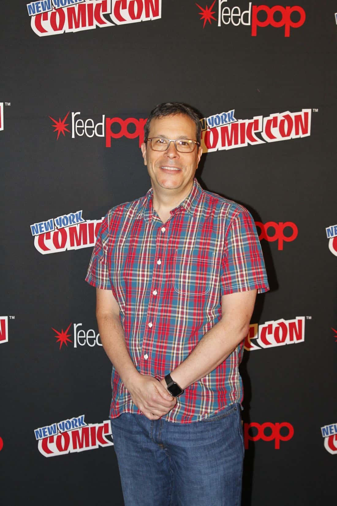 "NY COMIC-CON 2017 - Freeform's genre programming was out in full force at this year's New York Comic Con on Saturday, October 7th with executive producers and cast from the hit series ""Shadowhunters,"" ""Beyond,"" and new original series ""Siren.""  (ABC/Lou Rocco) DARREN SWIMMER (EXECUTIVE PRODUCER, SHADOWHUNTERS)"