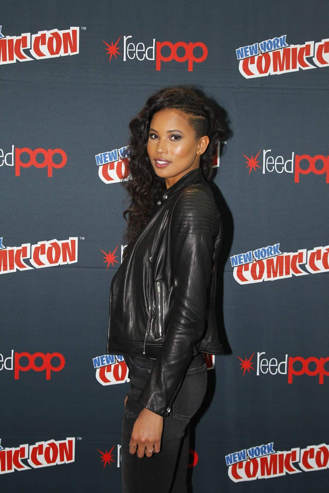 """NY COMIC-CON 2017 - SIREN - Freeform's genre programming was out in full force at this year's New York Comic Con on Saturday, October 7th with executive producers and cast from the hit series """"Shadowhunters,"""" """"Beyond,"""" and new original series """"Siren.""""  (Freeform/Lou Rocco) FOLA EVANS-AKINGBOLA"""