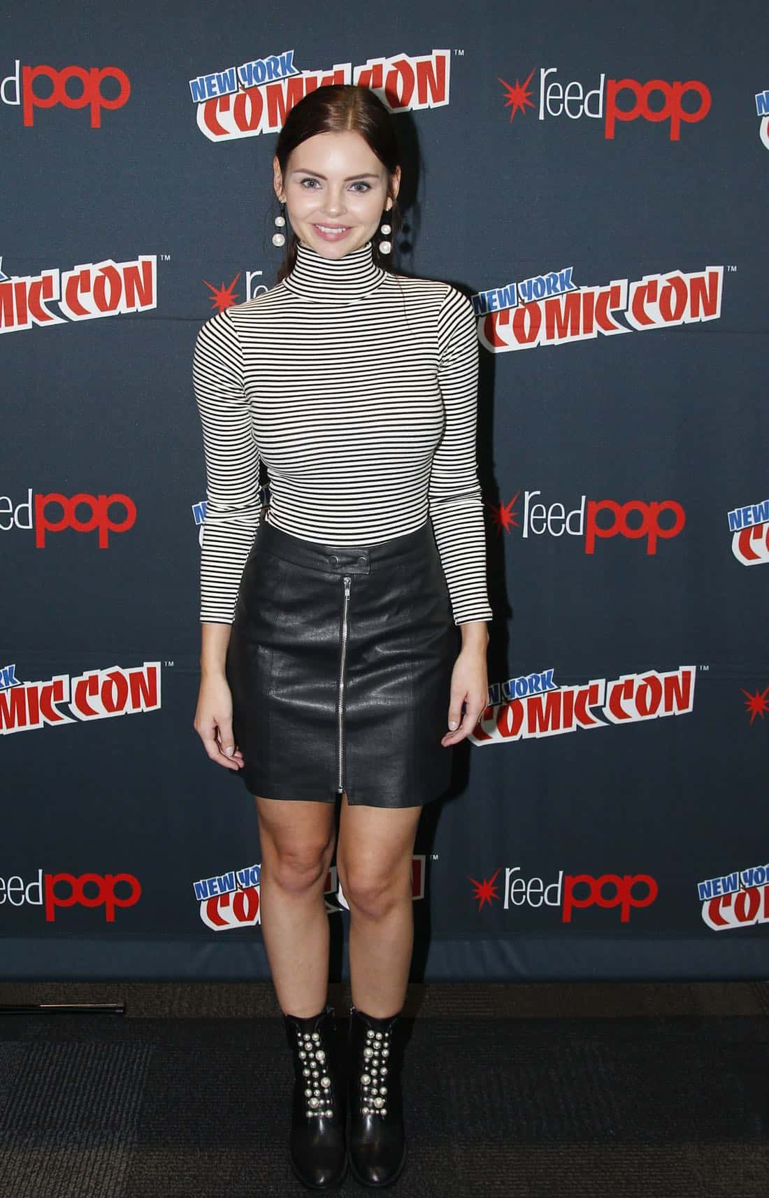 """NY COMIC-CON 2017 - SIREN - Freeform's genre programming was out in full force at this year's New York Comic Con on Saturday, October 7th with executive producers and cast from the hit series """"Shadowhunters,"""" """"Beyond,"""" and new original series """"Siren.""""  (Freeform/Lou Rocco) ELINE POWELL"""