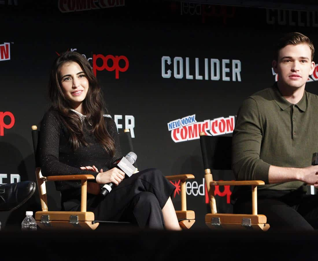 "NY COMIC-CON - BEYOND - Freeform's genre programming was out in full force at this year's New York Comic Con on Saturday, October 7th with executive producers and cast from the hit series ""Shadowhunters,"" ""Beyond,"" and new original series ""Siren.""  (Freeform/Lou Rocco) DILAN GWYN, BURKELYDUFFIELD"