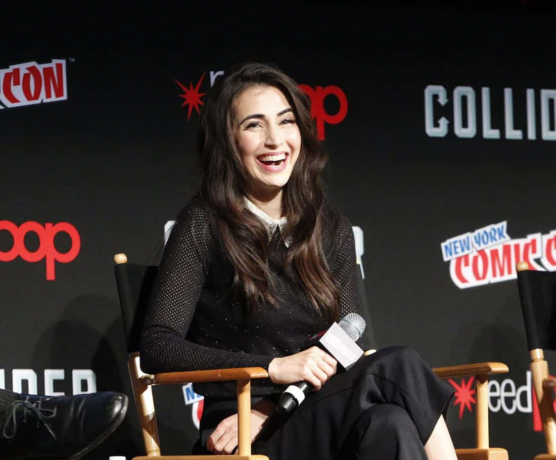 "NY COMIC-CON - BEYOND - Freeform's genre programming was out in full force at this year's New York Comic Con on Saturday, October 7th with executive producers and cast from the hit series ""Shadowhunters,"" ""Beyond,"" and new original series ""Siren.""  (Freeform/Lou Rocco) DILAN GWYN"