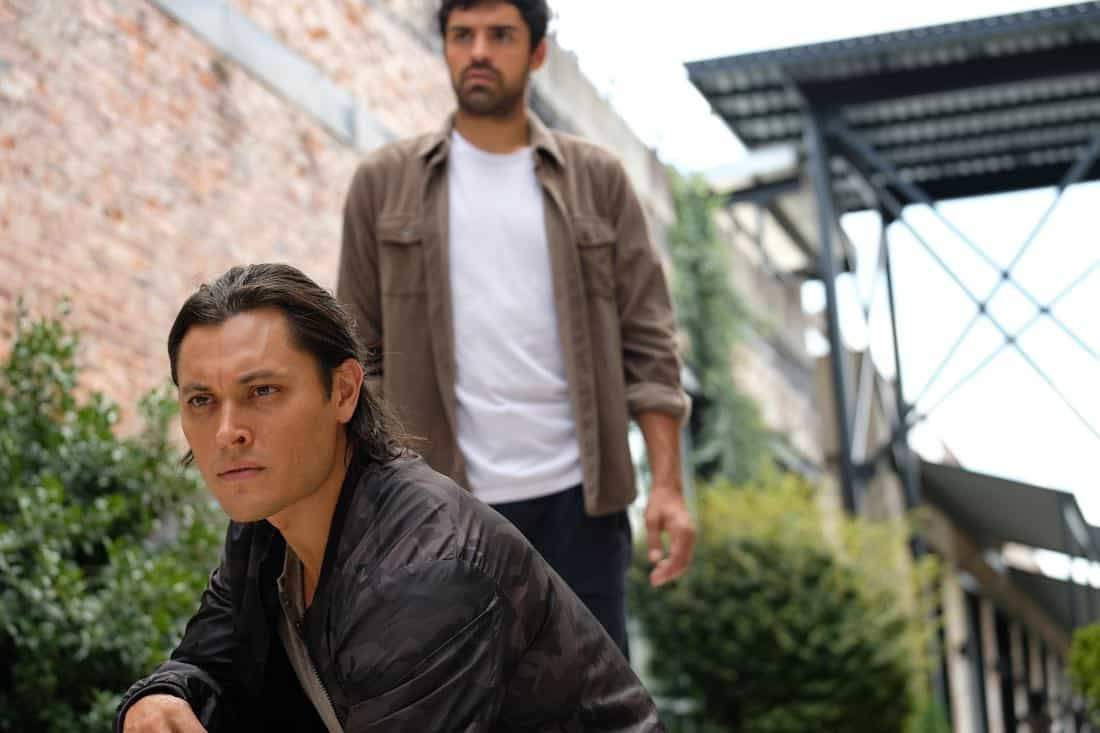 "THE GIFTED: L-R: Blair Redford and Sean Teale in the ""eXodus"" episode of THE GIFTED airing Monday, Oct. 16 (9:00-10:00 PM ET/PT) on FOX. ©2017 Fox Broadcasting Co. Cr: Eliza Morse/FOX"