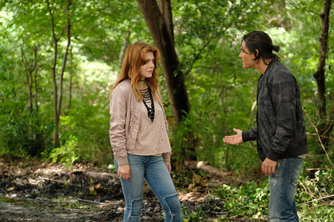"THE GIFTED: Guest star Elena Satine and Blair Redford in the ""eXodus"" episode of THE GIFTED airing Monday, Oct. 16 (9:00-10:00 PM ET/PT) on FOX. ©2017 Fox Broadcasting Co. Cr: Eliza Morse/FOX"