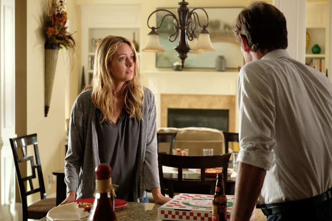 "THE GIFTED: L-R: Amy Acker and guest star Jeffrey Nordling in the ""eXodus"" episode of THE GIFTED airing Monday, Oct. 16 (9:00-10:00 PM ET/PT) on FOX. ©2017 Fox Broadcasting Co. Cr: Eliza Morse/FOX"