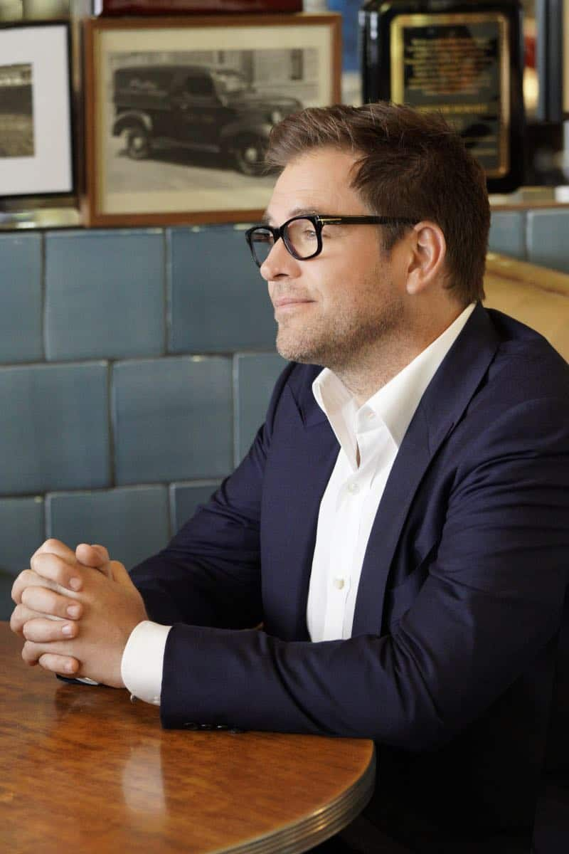 """The Illusion of Control""-- Bull hires an eccentric lawyer to represent him when a celebrity sues him after his advice regarding her custody case backfires, on BULL, Tuesday, Oct 17 (9:00-10:00 PM, ET/PT) on the CBS Television Network.Pictured: Michael Weatherly as Dr. Jason Bull Photo: John Paul Filo/CBS ©2017 CBS Broadcasting, Inc. All Rights Reserved"