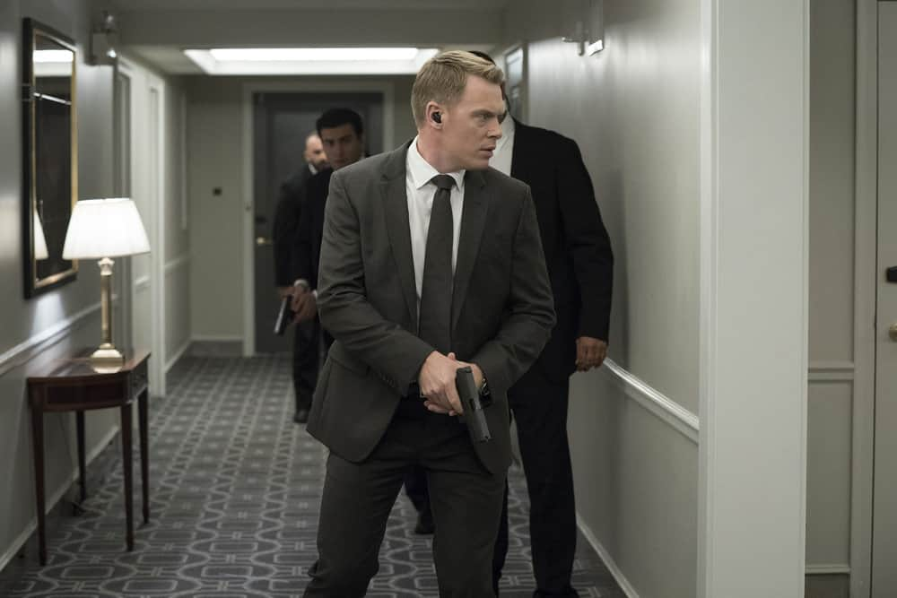 "THE BLACKLIST -- ""The Endling"" Episode 504 -- Pictured: Diego Klattenhoff as Donald Ressler -- (Photo by: Virginia Sherwood/NBC)"