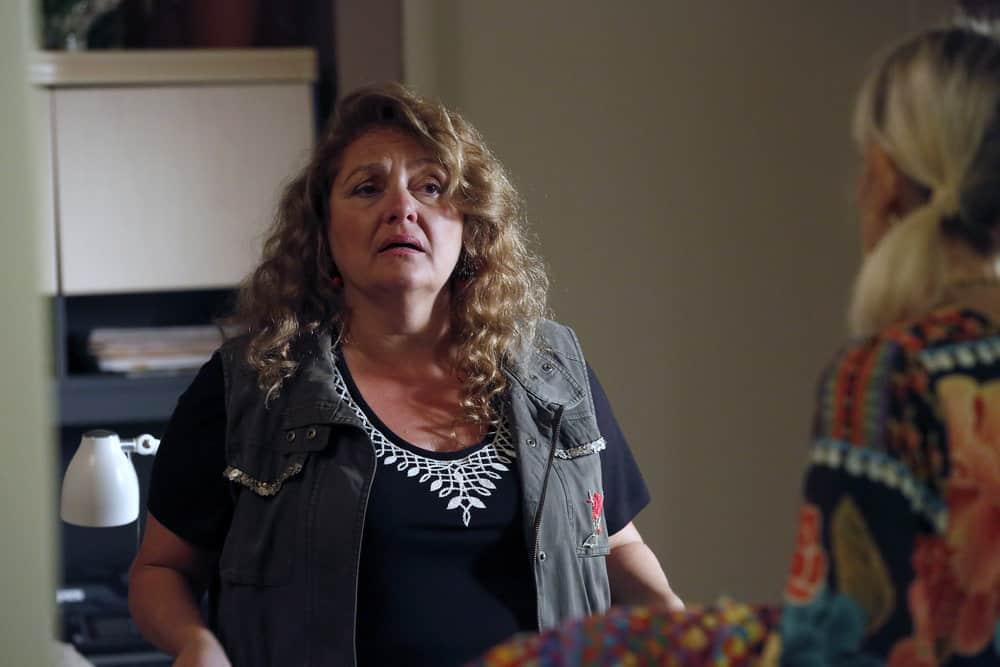 """THE BLACKLIST -- """"Ilyas Surkov (#54)"""" Episode 505 -- Pictured: Aida Turturro as Heddie Hawkins -- (Photo by: Will Hart/NBC)"""