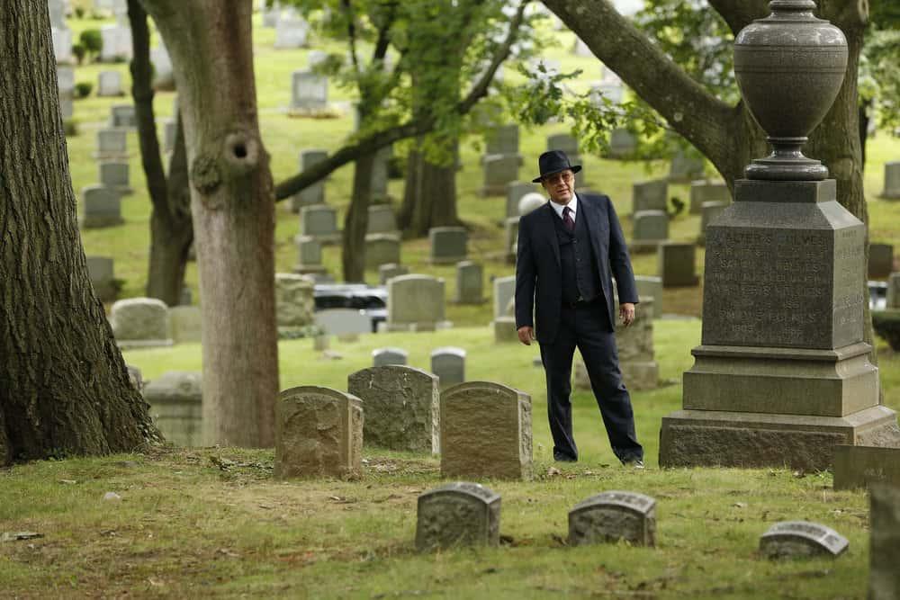 "THE BLACKLIST -- ""Ilyas Surkov (#54)"" Episode 505 -- Pictured: James Spader as Raymond ""Red"" Reddington -- (Photo by: Will Hart/NBC)"