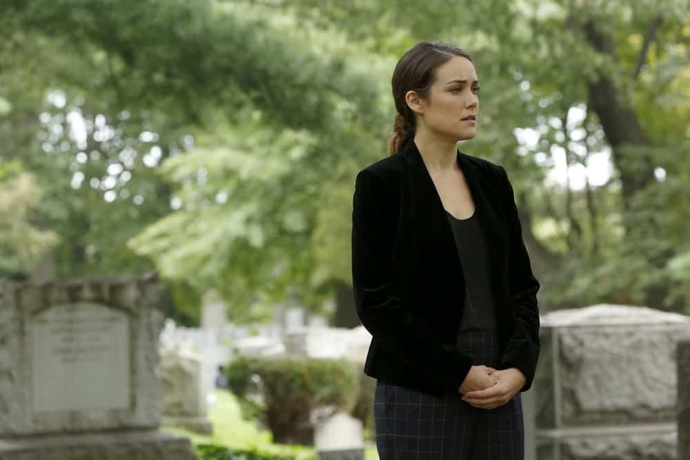 "THE BLACKLIST -- ""Ilyas Surkov (#54)"" Episode 505 -- Pictured: Megan Boone as Elizabeth Keen -- (Photo by: Will Hart/NBC)"